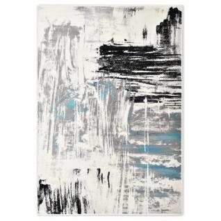 vidaXL Teppich Blau 120 x 170 cm PP