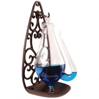 Esschert Design Glasbarometer mit Gusseisenhalterung 0, 5 L TH31 - Vorschau 4