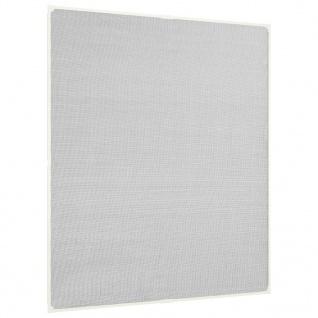 vidaXL Insektenschutz für Fenster Magnetisch Weiß 120x140 cm Fiberglas