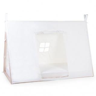CHILDHOME Abdeckung für Tipi-Bett 90×200 cm Weiß