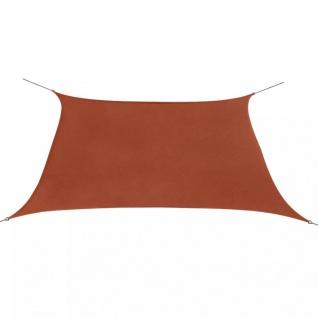 vidaXL Sonnensegel Oxfordgewebe Quadratisch 2 x 2 m Terracotta