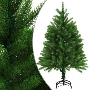 vidaXL Künstlicher Weihnachtsbaum Naturgetreue Nadeln 120 cm Grün