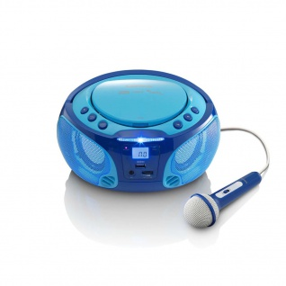Lenco Radio und CD-Player SCD-650 Blau