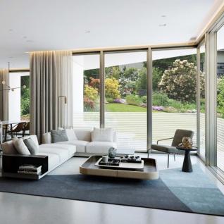 vidaXL Fensterfolie Sichtschutzfolie Streifen Selbstklebend 0, 9x100 m - Vorschau 3