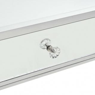 vidaXL Verspiegelter Couchtisch aus MDF und Glas 100x50x45 cm - Vorschau 5