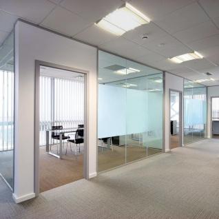 vidaXL Fensterfolie Sichtschutzfolie Milchglas Selbstklebend 0, 9x100 m - Vorschau 4