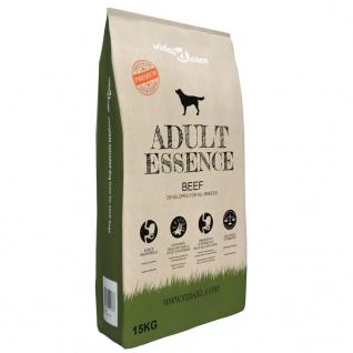 vidaXL Premium-Trockenhundefutter Adult Essence Beef 15 kg