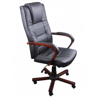 Luxuriöser Bürostuhl Schwarz