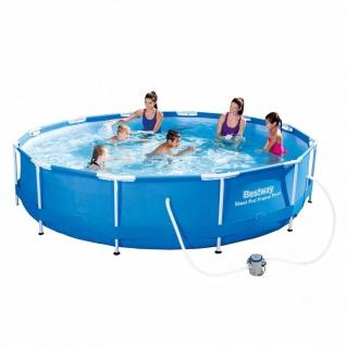 Bestway Pool-Set Sirocco Rund Blau 366cm 56416