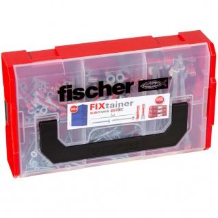 Fischer Dübel und Schrauben-Set FIXtainer DUOPOWER/DUOTEC 200 Stk.