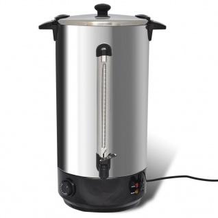 vidaXL Glühweinkocher Wasserkocher 25 L