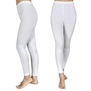2 Stück Mädchen-Leggings 134/140 Weiß