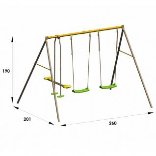 Trigano Schaukel-set Brioso 260 X 190 X 190 Cm Stahl J-10456p6 - Vorschau 3