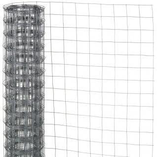 Nature Maschendraht Viereckgeflecht 0, 5x5 m 13 mm verzinkter Stahl