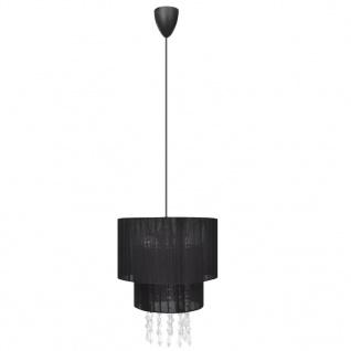 Kronleuchter Pendelleuchte Lampe Leuchte schwarz