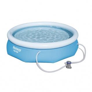 Bestway Pool-Set Marin Fast Rund Grau 305cm 57270