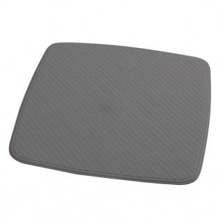 RIDDER Duscheinlage Antirutschmatte Capri Zementgrau 54 × 5 4 cm