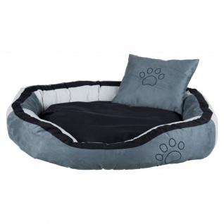 TRIXIE Hundebett Bonzo 80 x 65 x 22 cm Grau und Schwarz 37716