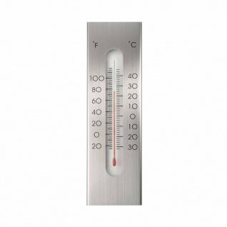 Nature Wandthermometer Aluminium 7 x 1 x 23 cm