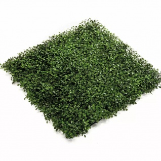 Emerald Kunstgras Buchsbaum Matte 4 Stk. Grün 50 x 50 cm 417980