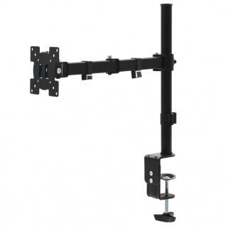"""vidaXL Monitor-Tischhalterung 32"""" Einzelarm Höhenverstellbar"""