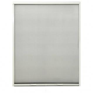 vidaXL Insektenschutzrollo für Fenster Weiß 150x170 cm