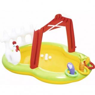 Bestway Aufblasbares Wasserspielcenter Bauernhof 175x147x102 cm