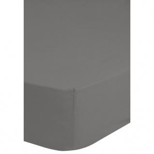 Emotion Bügelfreies Spannbettlaken 70 x 200 cm Grau 0220.03.40