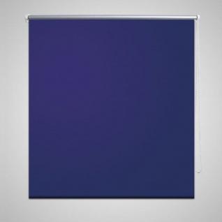 Verdunkelungsrollo Verdunklungsrollo 100 x 230 cm blau