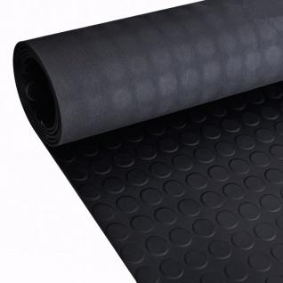 Gummi-Bodenmatte Antirutschmatte mit Punkten 2 x 1 m