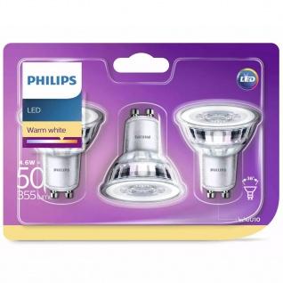 Philips LED-Lampen 3 Stk. Classic 4, 6 W 355 Lumen 929001215286