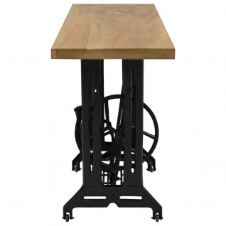 vidaXL Nähmaschinen-Konsolentisch 110×40×75 cm - Vorschau 3