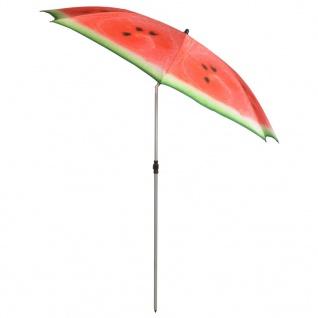"""Esschert Design Schirm """" Watermelon"""" 184 cm Rot und Grün TP262"""