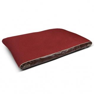 Scruffs & Tramps Haustierbett Hilton Memory Foam Rot Größe L 936