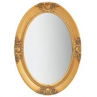 vidaXL Wandspiegel im Barock-Stil 50 x 70 cm Golden