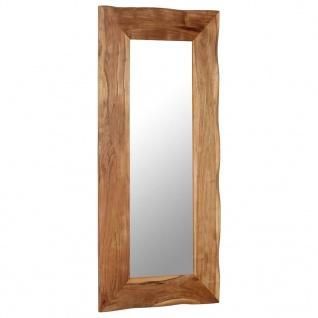 vidaXL Kosmetikspiegel 50 x 110 cm Akazie Massivholz