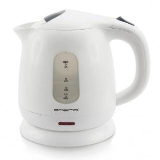 Emerio Elektrischer Wasserkocher 1, 0 L Weiß WK-110598.1