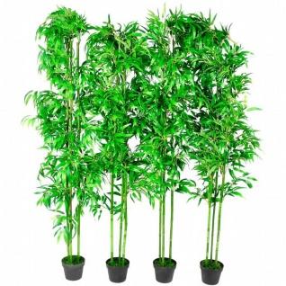 4 x Kunstbambus Bambus Kunstbaum 1, 90m - Vorschau 5