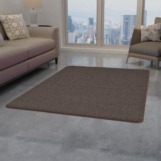 vidaXL Teppich Getuftet 160 x 230 cm Braun