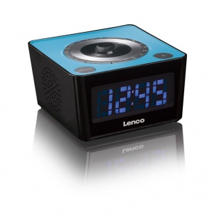 Lenco Uhrenradio CR-16 Blau
