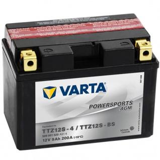 Varta AGM Batterie 12 V 9 Ah YTZ12S-4 / YTZ12S-BS