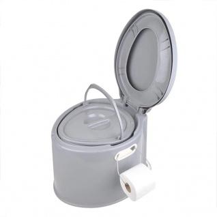 ProPlus Tragbare Toilette 7L Grau