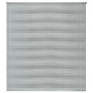 vidaXL Fensterjalousien Aluminium 120x220 cm Silber - Vorschau 2