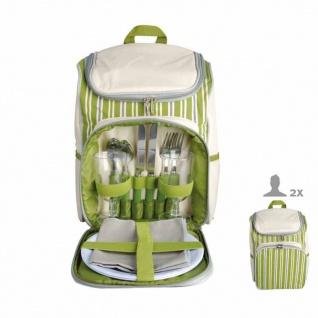 Esschert Design Picknick-Rucksack für 2 Personen Gestreift EL053
