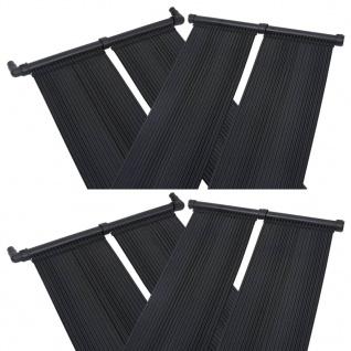 vidaXL Solar-Panel Poolheizung 4 Stk. 80x310 cm