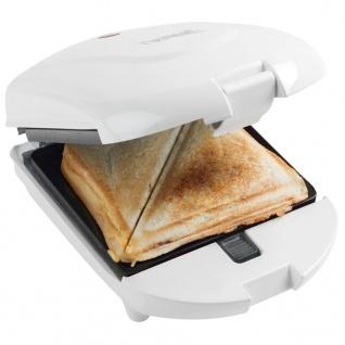 Bestron 3in1 Sandwichtoaster Snack-/Waffle Maker 520W Weiß ADM2003W