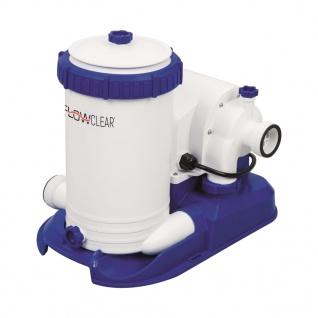 Bestway Flowclear Kartuschenfilterpumpe 9463 L/h 58391