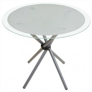 vidaXL 5-tlg. Essgarnitur Esstisch mit Stühlen - Vorschau 3