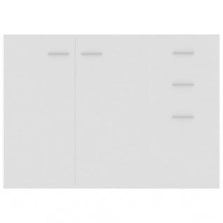 vidaXL Sideboard Weiß 105 x 30 x 75 cm Spanplatte - Vorschau 5