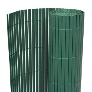 vidaXL Gartenzaun Doppelseitig 150×500 cm Grün